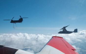 Flight testing at Redstone