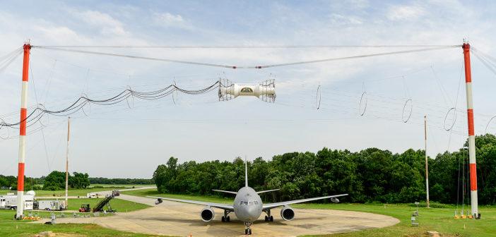 KC-46 electromagnetic
