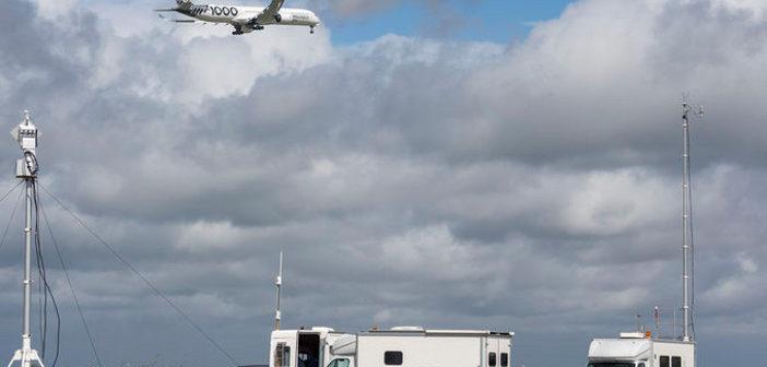 A350-1000 noise campaign
