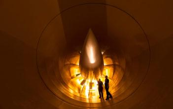 Qinetiq wind tunnel