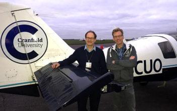 cranfield university test plane