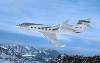 G500 business jet