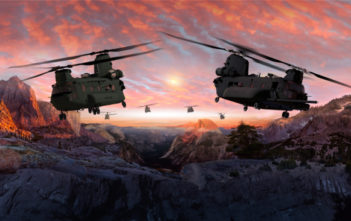 Chinook Helicopters