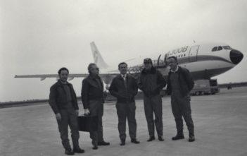 A300B first flight