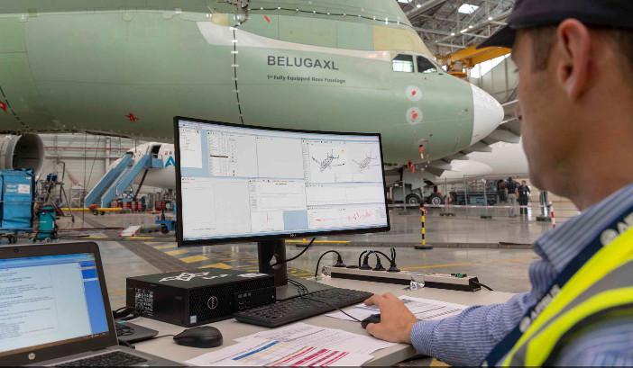 Beluga XL under test