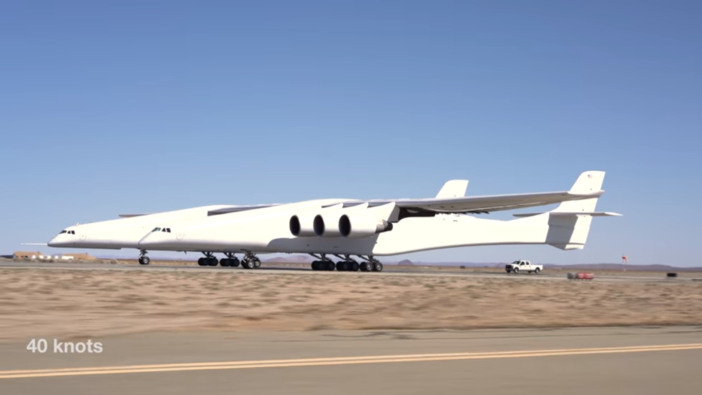 Stratolaunch completes taxi test | Aerospace Testing