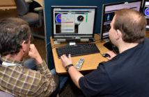 Engineers at desk