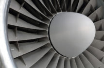 Jet-engine closeup