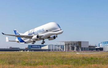 Beluga XL aircraft