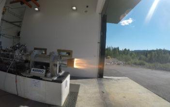 Nucleus Rocket test