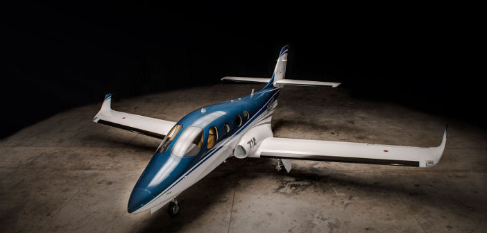 Stratos 714 proof of concept very light jet