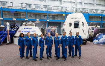 NASA commercial spacecraft crew
