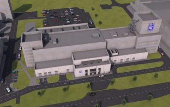 engine testing facility