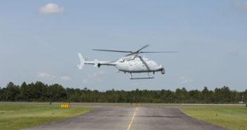 Northrop Grumman begins flight testing MQ-8C Fire Scout at Mississippi factory