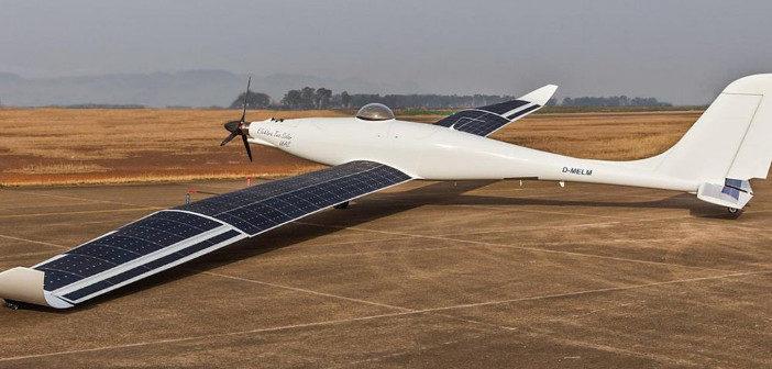 German solar-electric aircraft performs autonomous flight test