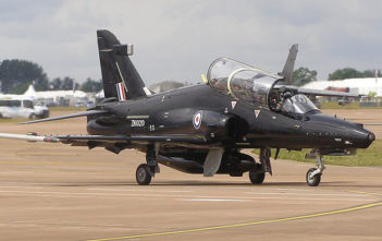 Hawk T2 trainer jet