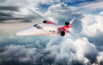 Aerion AS2 in Clouds