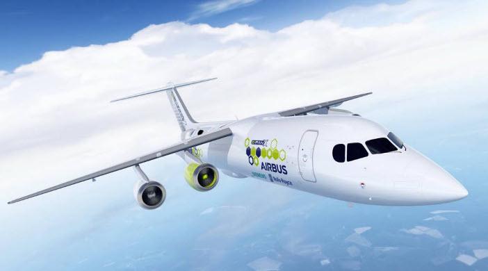 E-Fan X aircraft