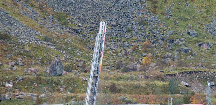 Norwegian defense firm launches hybrid rocket