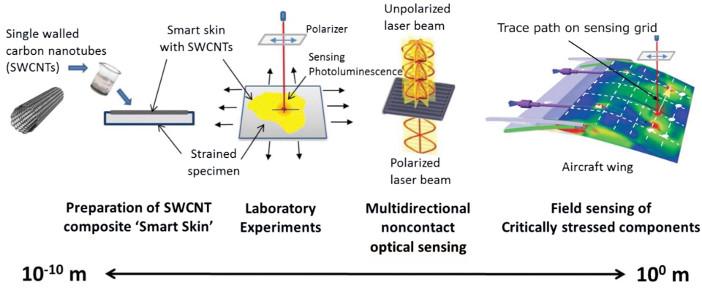 Fluorescing carbon nanotubes