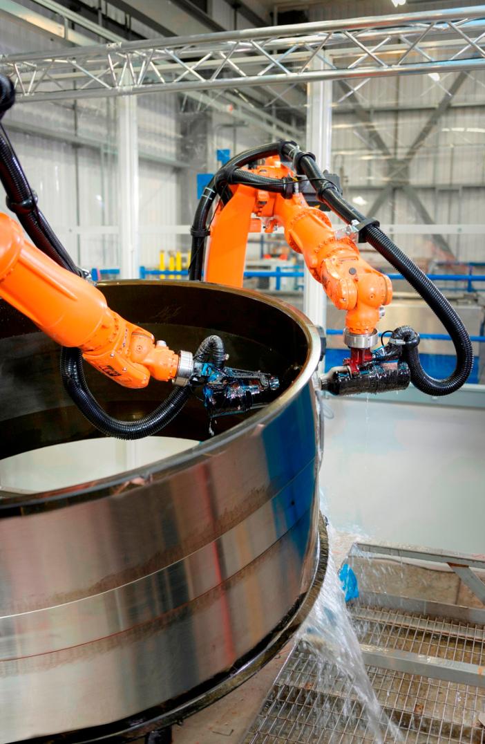 Intacom robot