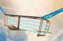 Ionic wind airplane