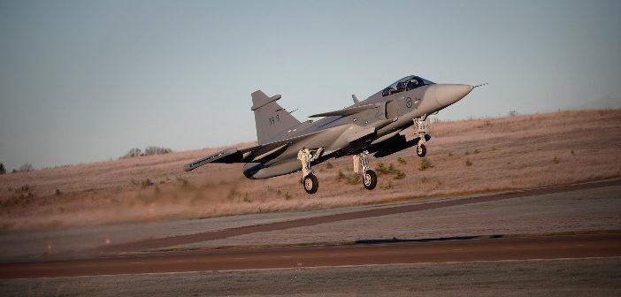 Gripen E test aircraft