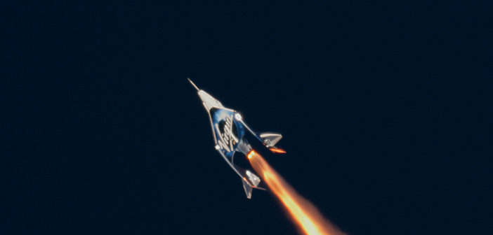 Video: Virgin Galactic test flight and tour