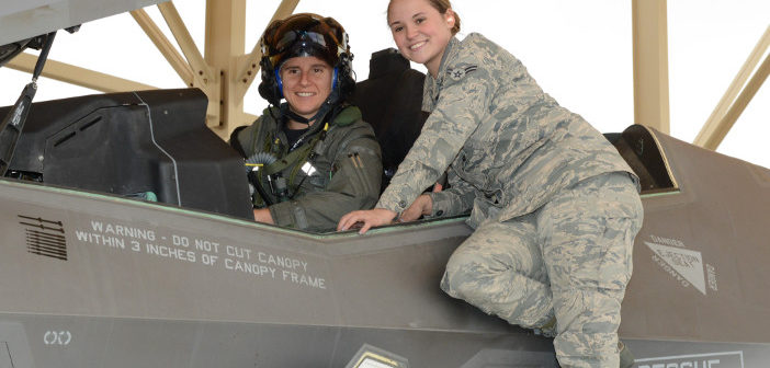 F-35 female pilot