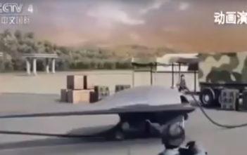skyhawk drone video