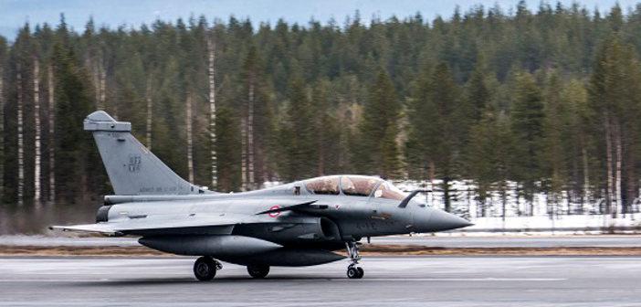Rafale fighter in Finland