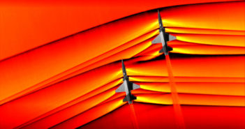Supersonic shockwaves imaged by NASA