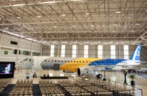 The E195-E2 certification ceremony (Image: Embraer)