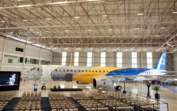 The E195-E2 certification ceremony (Image: Embraer)