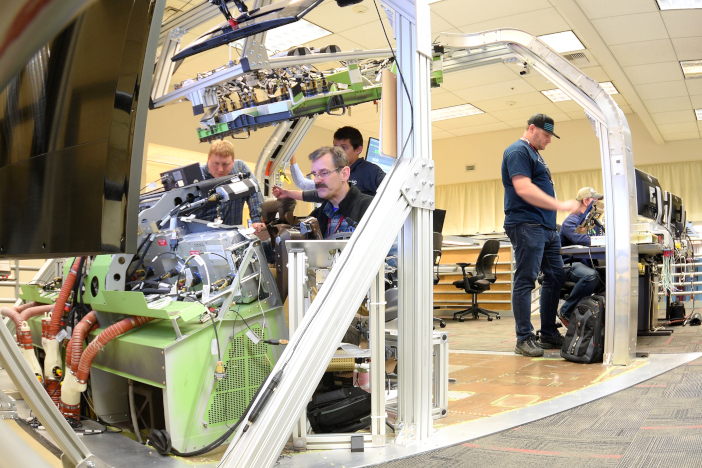 Boeing testing laboratory