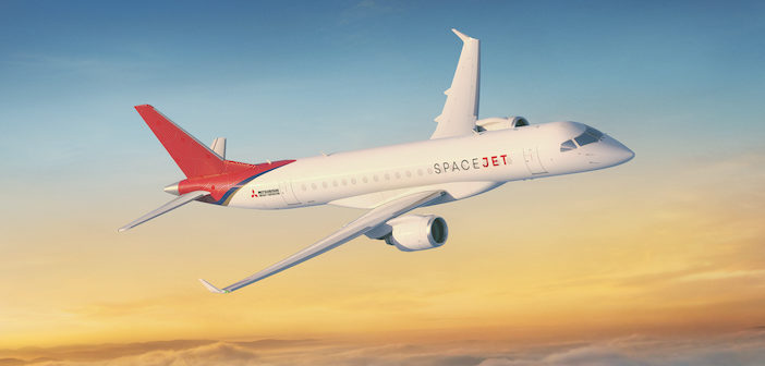 Mitsubishi confirms new MRJ name is… SpaceJet