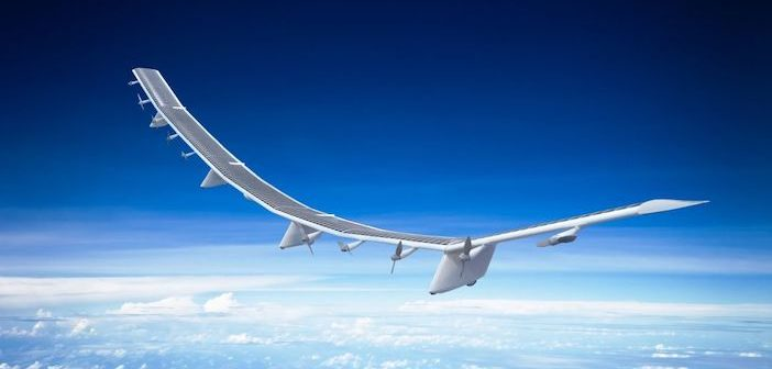 High altitude drone passes first test flight