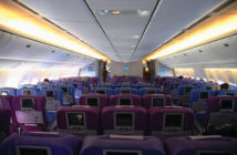 interior photo of an aircraft