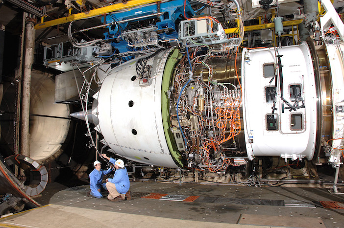 Rolls-Royce Trent 1000 engine