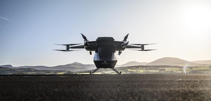 eVTOL prototype shown off in first flight test video