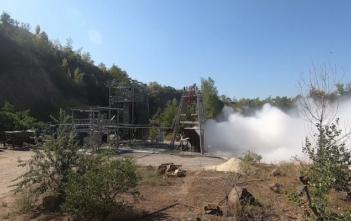 Skyrora engine test