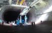 Arnold Engineering Development Complex team members lower the NASA/Army Tiltrotor Test Rig into the 40- by 80-ft wind tunnel in the AEDC National Full-Scale Aerodynamics Complex at Moffett Field in Mountain View, California