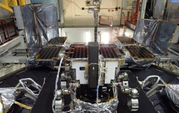 Thermal-vacuum testing for ExoMars at Airbus in Toulouse