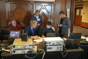 A FAA-organized event held earlier this year saw 14 suppliers of VOIP technology test the interoperability of their systems
