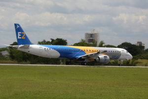 Embraer's E-195-E2 aircraft is scheduled to resume flight testing before the end of 2019