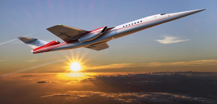 Aerion Supersonic has selected GKN Aerospace as a supplier on the AS2 supersonic business jet