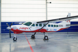 AeroTEC's project with MagniX is using a Cessna Caravan to demonstrate and certify an electric propulsion system