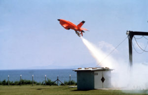 This BQM-34A Firebee I was supporting US Pacific Air Force Command operations in 1984 (Photo: SSGT Daniel Perez/USAF)