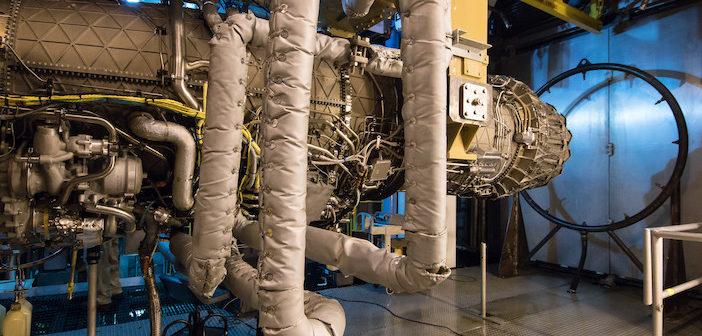 F135 engine test