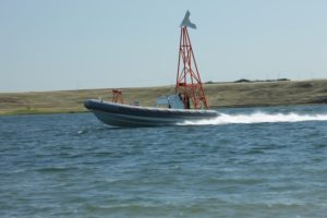 The Barracuda USV-T is powered so it can tow multiple targets (Photo: QTS)